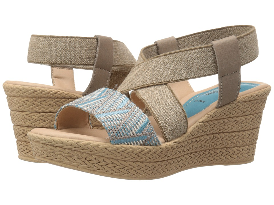 Spring Step - Beach (Sky Blue) Women's Shoes
