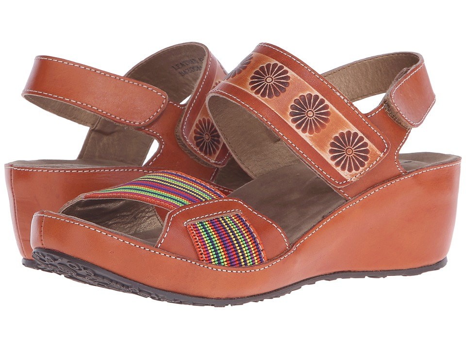 Spring Step - Bazooka (Camel) Women's Shoes