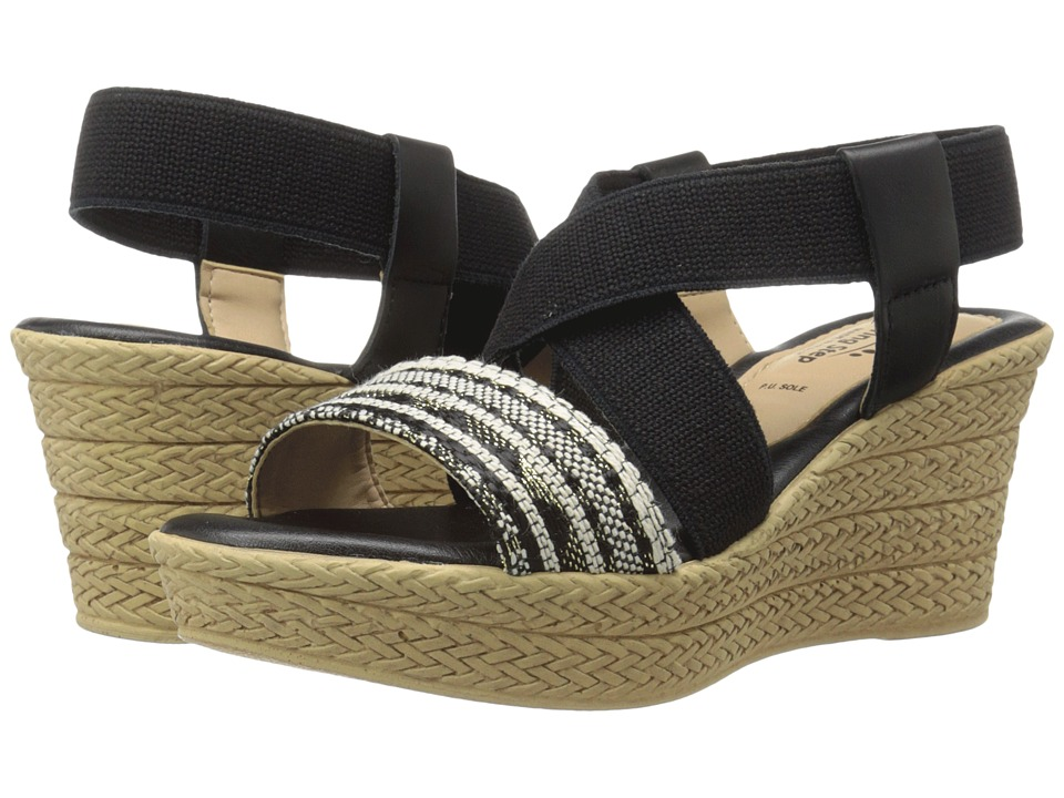 Spring Step - Beach (Black Multi) Women's Shoes