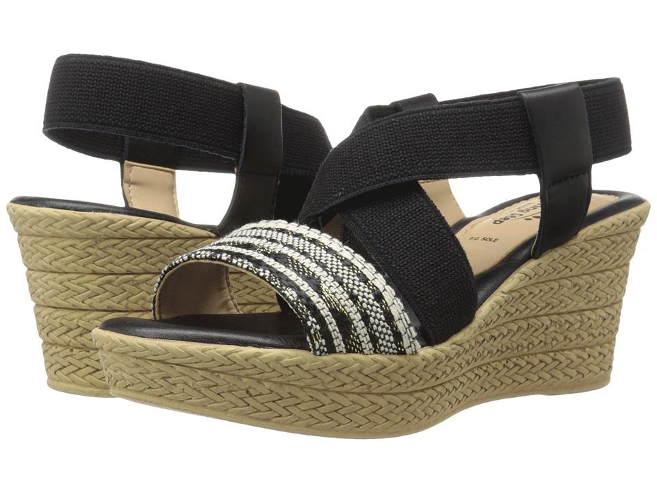 Spring Step - Beach (Black Multi) Women's Shoes