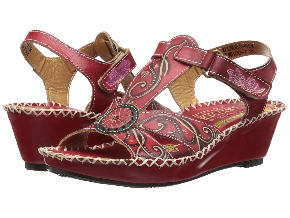 Spring Step Dinora (Red) Women