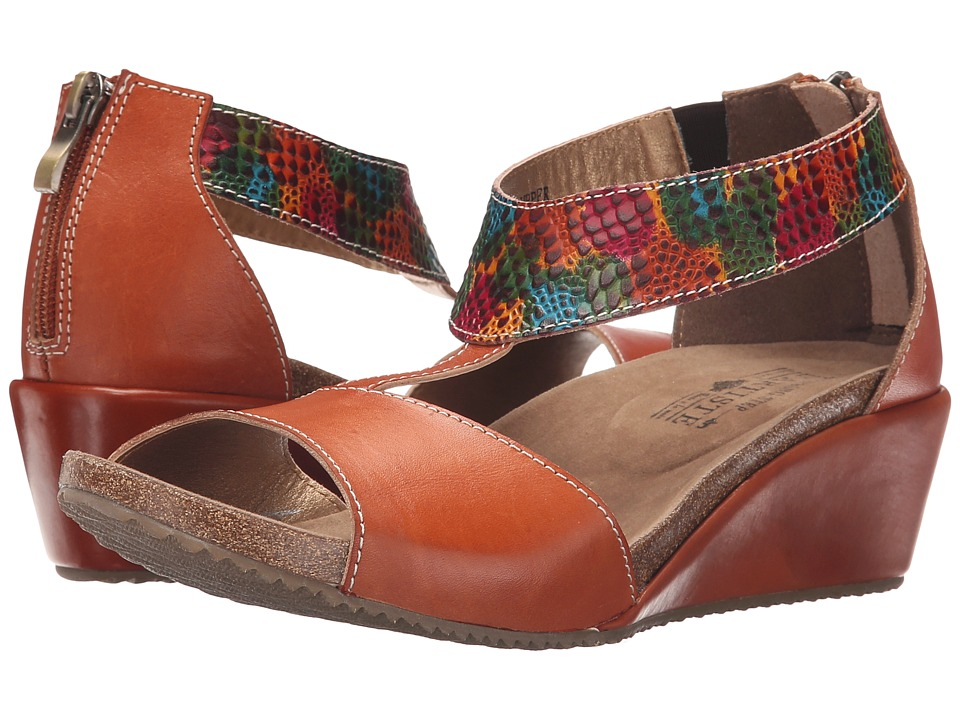 Spring Step - Breckel (Camel) Women's Shoes