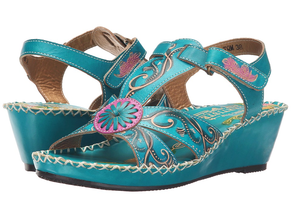 Spring Step - Dinora (Turquoise) Women's Shoes