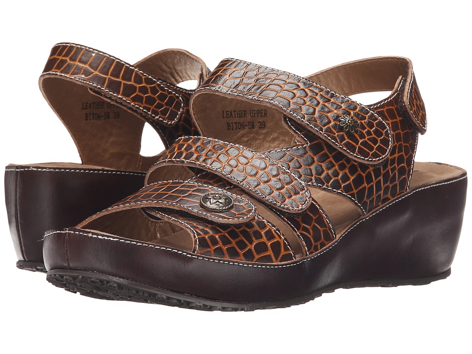 Spring Step - Biton (Brown) Women's Shoes
