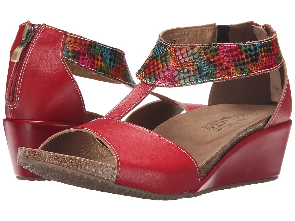 Spring Step Breckel (Red) Women