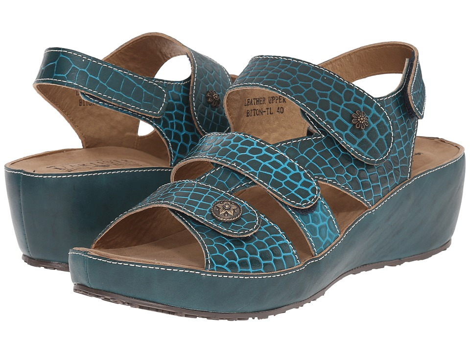 Spring Step Biton (Teal) Women