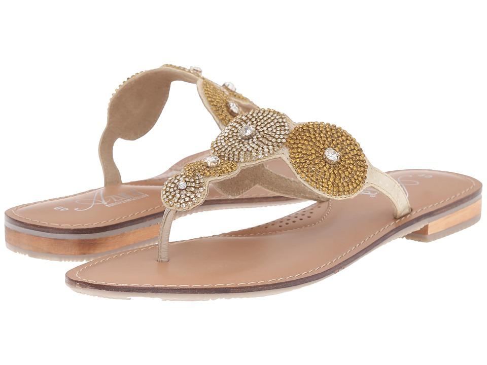 Spring Step - Filipa (Gold) Women's Shoes