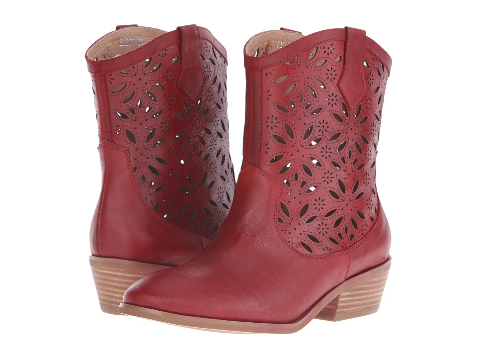 Spring Step - Elgin (Red) Women's Pull-on Boots