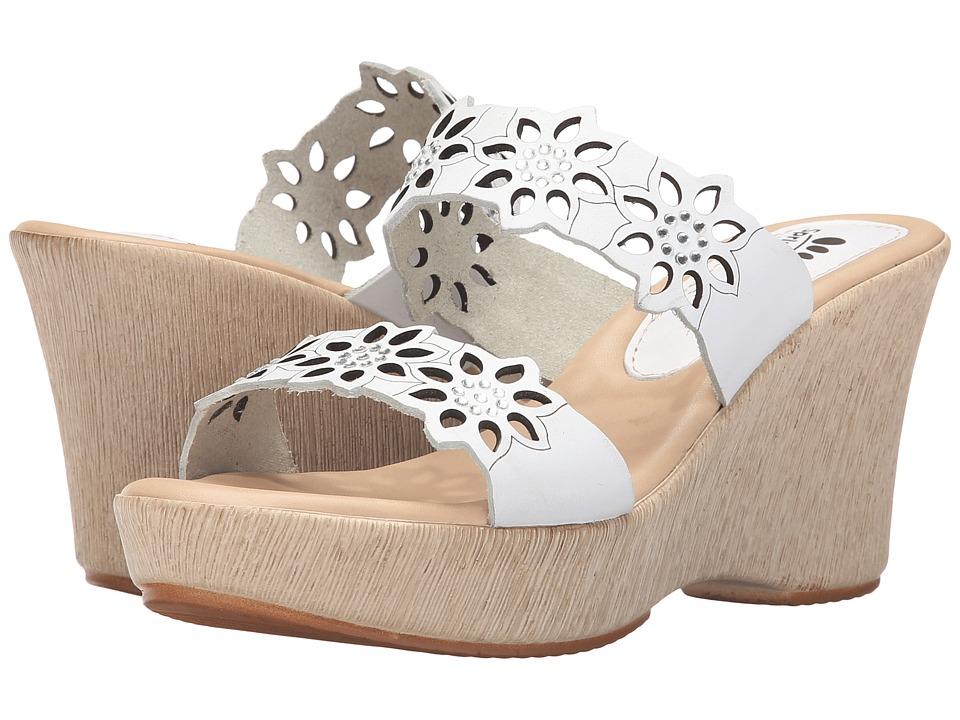Spring Step - Finn (White) Women's Shoes