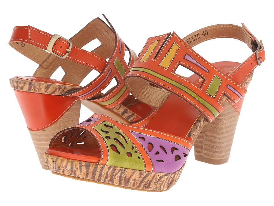 Spring Step Ellie (Orange) Women