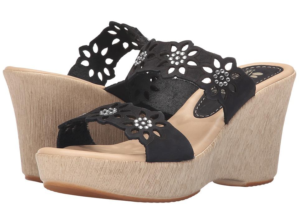 Spring Step - Finn (Black) Women's Shoes