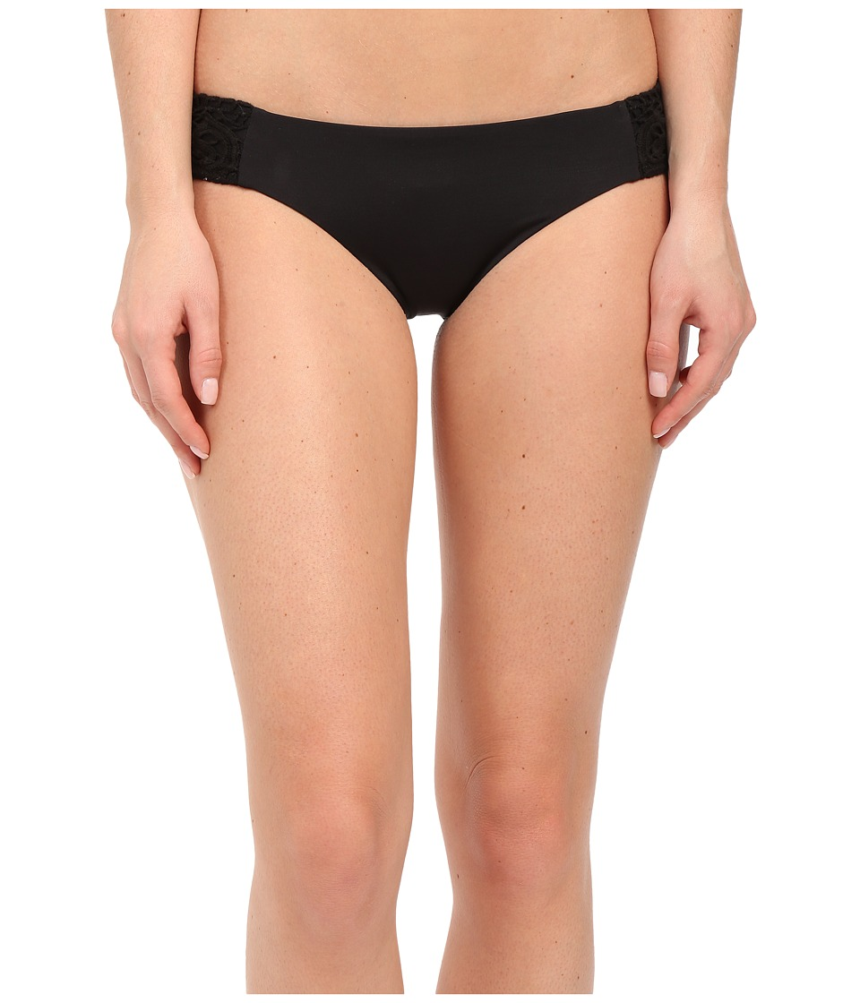 BECCA by Rebecca Virtue - Venise American Bottom (Black) Women's Swimwear