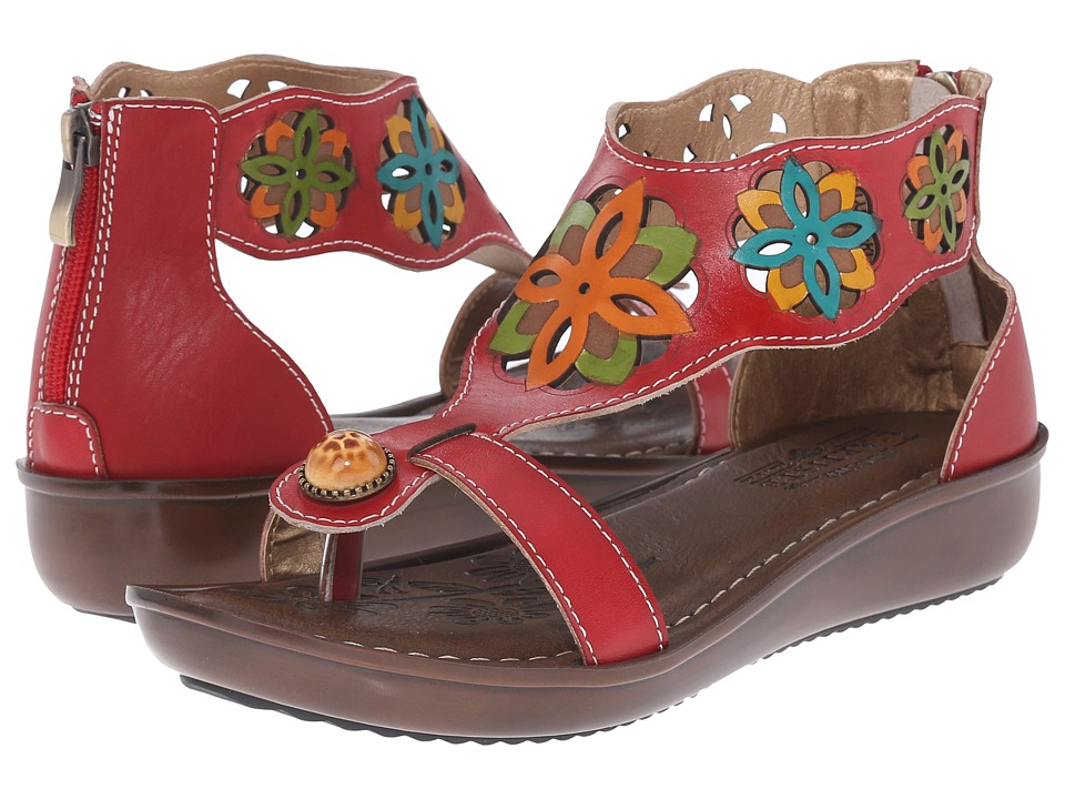 Spring Step - Kloof (Red) Women's Shoes