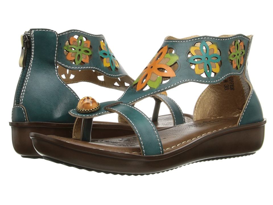Spring Step - Kloof (Teal) Women's Shoes