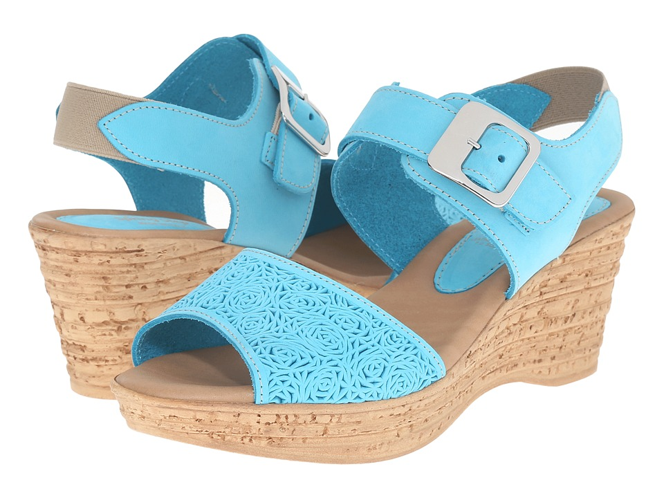 Spring Step - Mitu (Turquoise) Women's Shoes