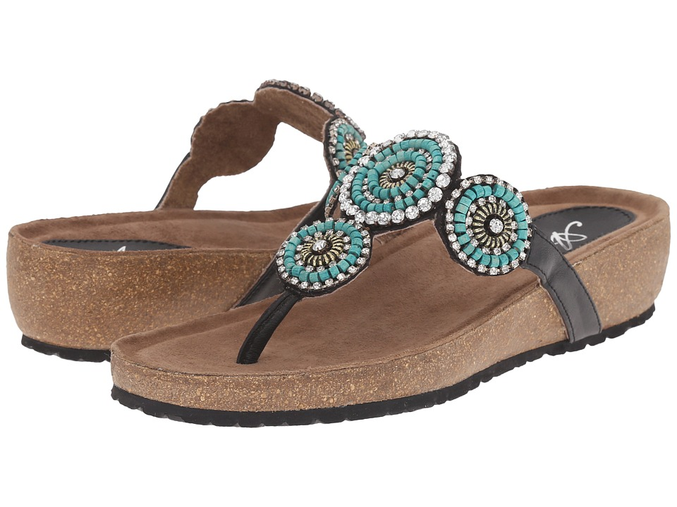 Spring Step - Lori (Turquoise) Women's Shoes