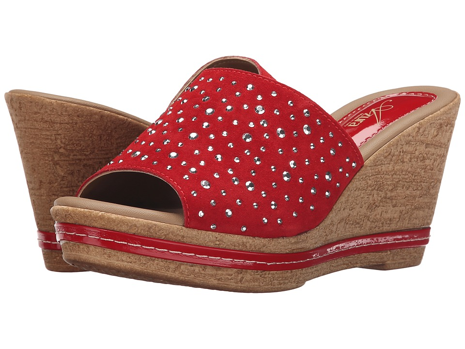 Spring Step - Listen (Red) Women's Shoes