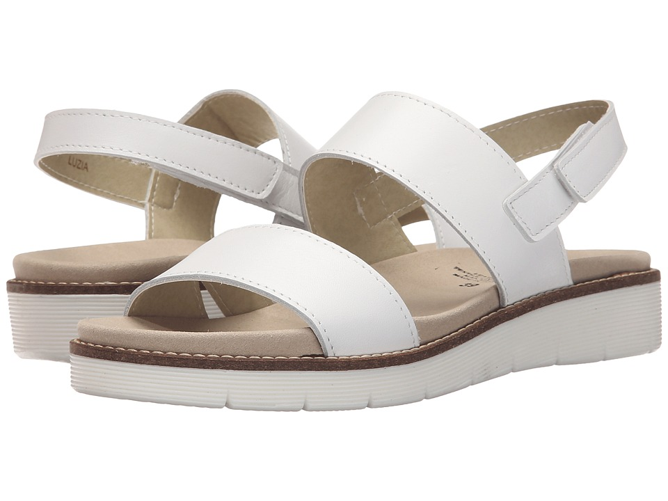 Spring Step - Luzia (White) Women's Shoes