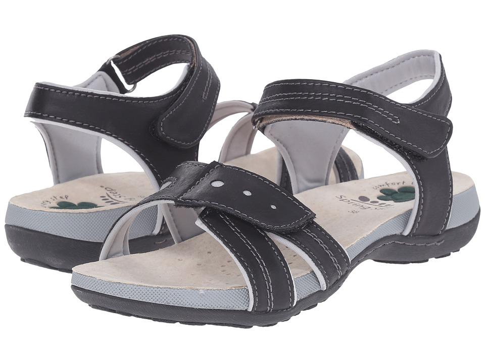 Spring Step - Maluca (Black) Women's Shoes