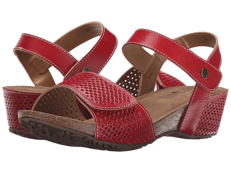 Spring Step - Lexy (Red) Women's Shoes