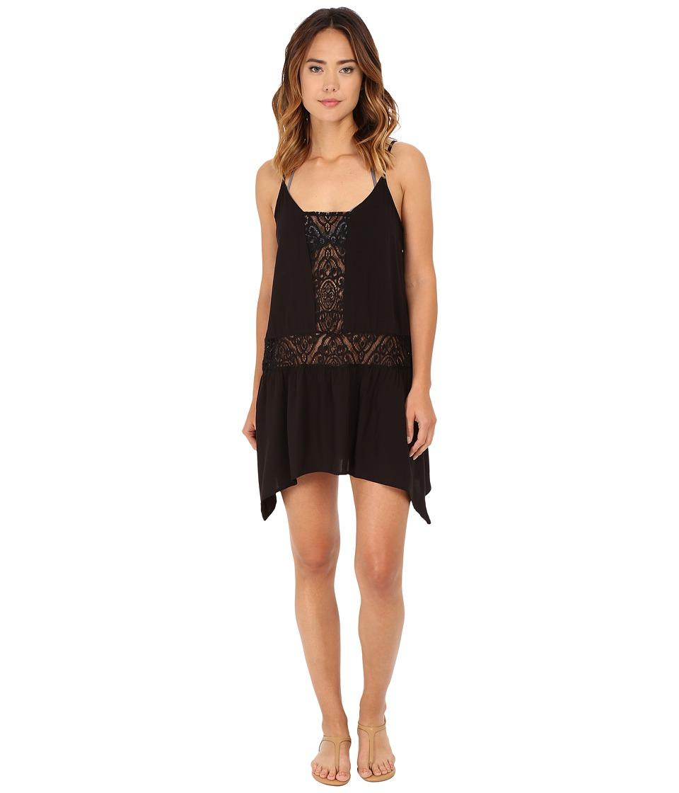 Image of BECCA by Rebecca Virtue - Amore Dress Cover-Up (Black) Women's Swimwear