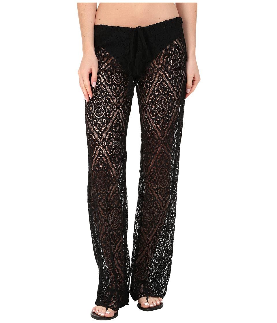 BECCA by Rebecca Virtue - Amore Pants Cover-Up (Black) Women's Swimwear