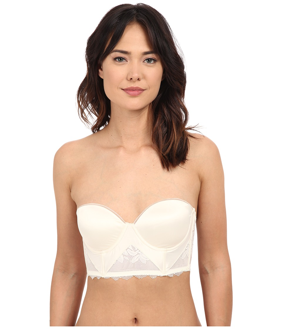 Calvin Klein Underwear - Seduce Strapless Push-Up Longline (Ivory) Women's Bra