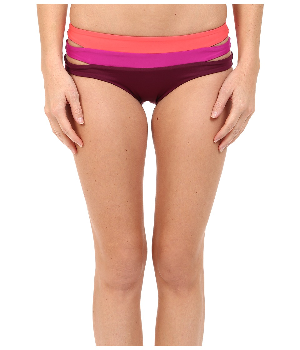 BECCA by Rebecca Virtue Metropolis Hipster Bottom Marsala Swimwear