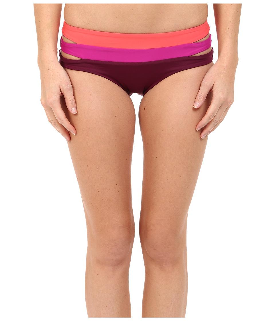 BECCA by Rebecca Virtue - Metropolis Hipster Bottom (Marsala) Women's Swimwear