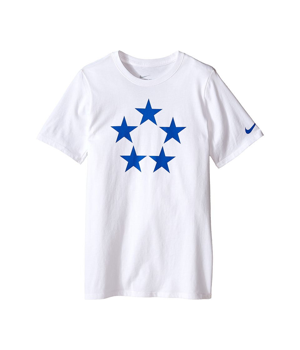 Nike Kids - Field Generals Tee (Little Kids/Big Kids) (White) Boy's T Shirt