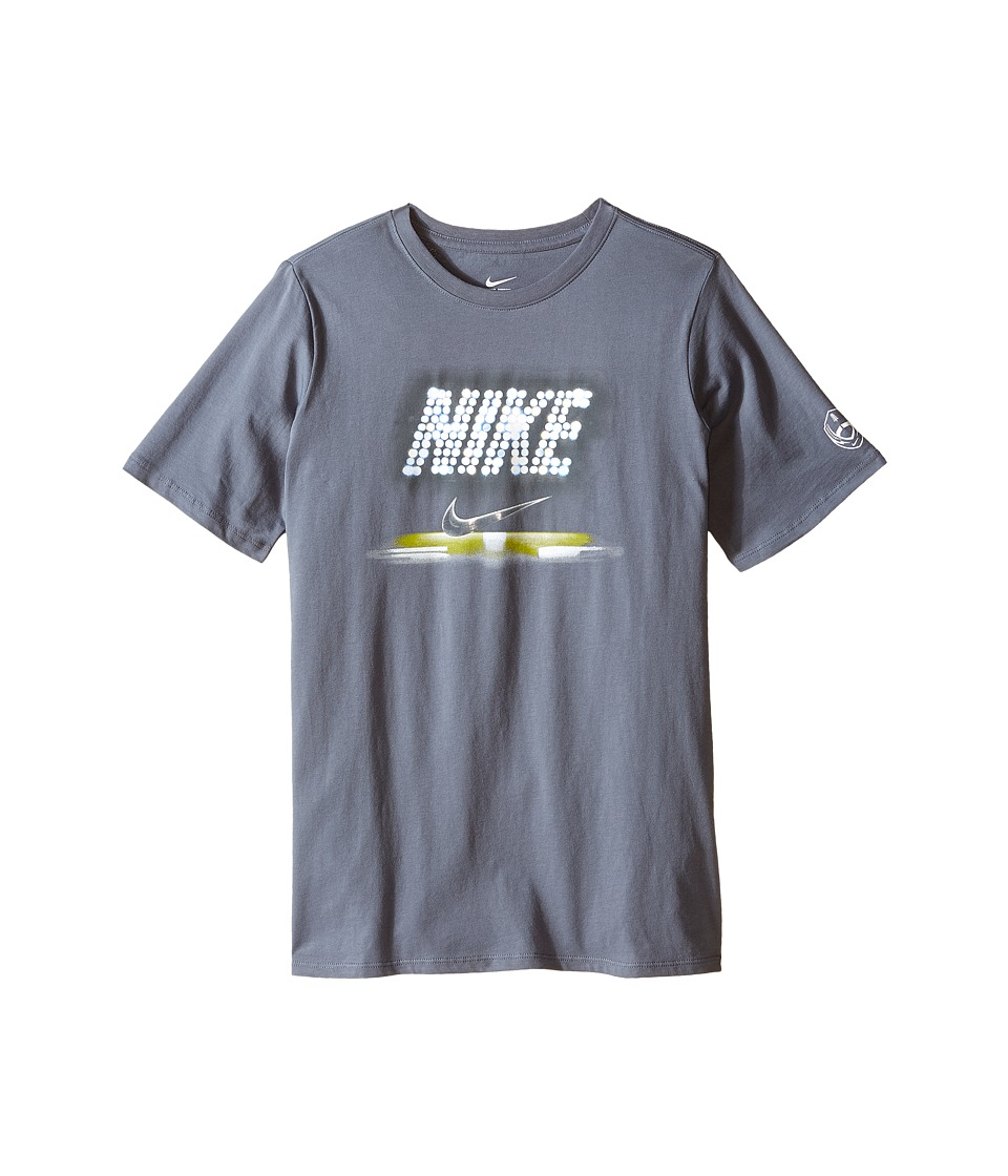 Nike Kids - Stadium Football Tee (Little Kids/Big Kids) (Cool Grey) Boy's T Shirt