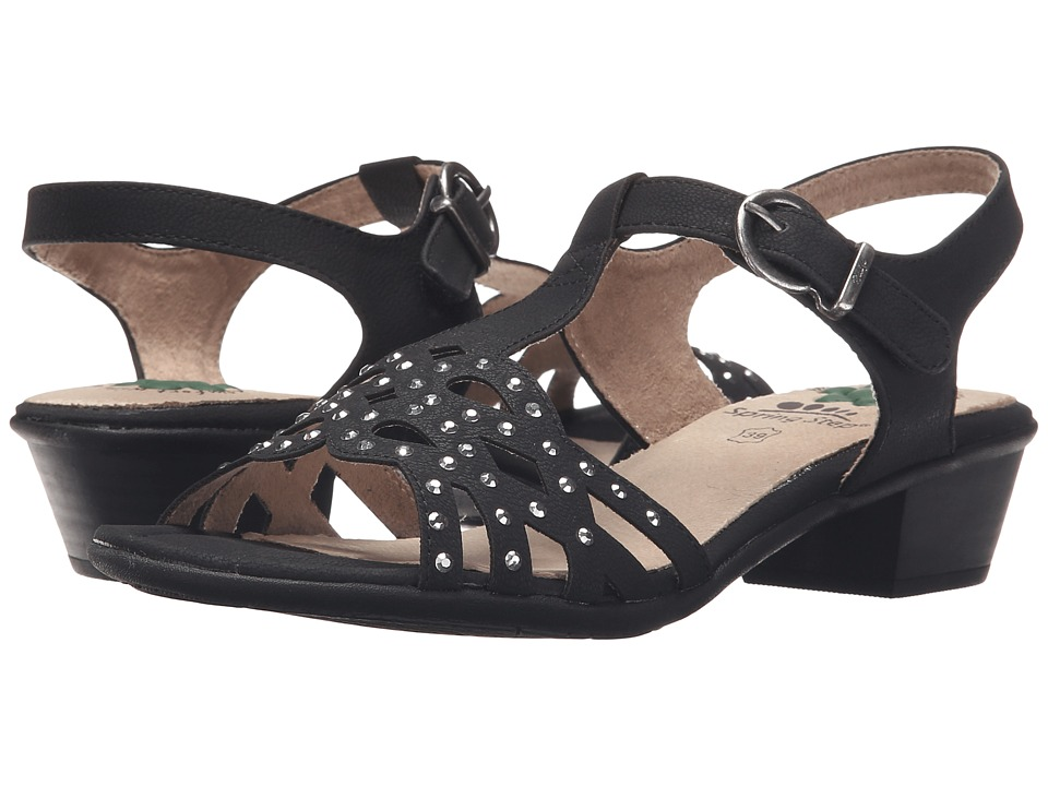 Spring Step - Scale (Black) Women's Shoes