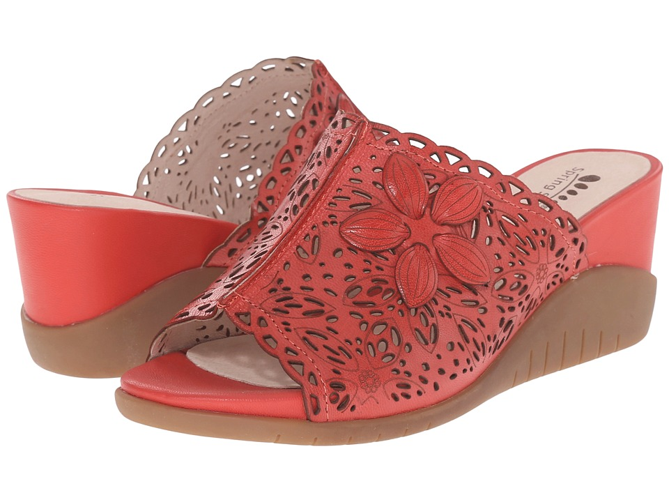 Spring Step - Togo (Red) Women's Shoes