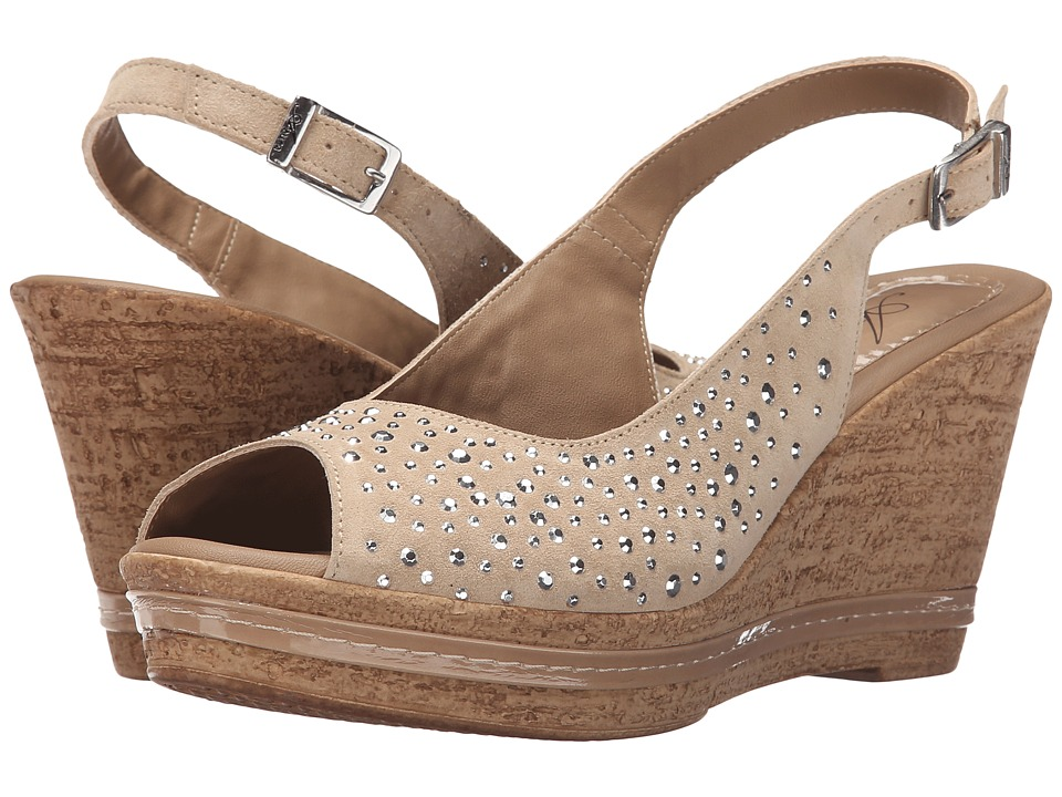 Spring Step - Showtime (Beige) Women's Wedge Shoes