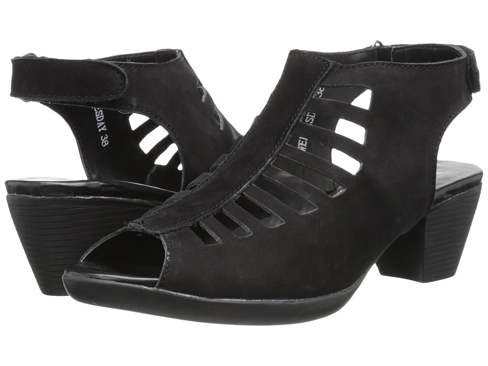 Spring Step - Wednesday (Black) Women's Shoes