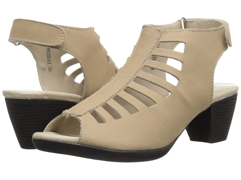 Spring Step - Wednesday (Beige) Women's Shoes