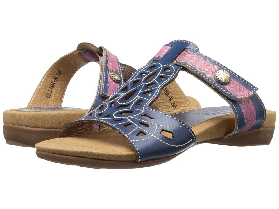 Spring Step - Ulyana (Navy) Women's Shoes
