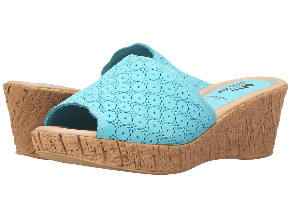 Spring Step - Pala (Turquoise) Women's Shoes