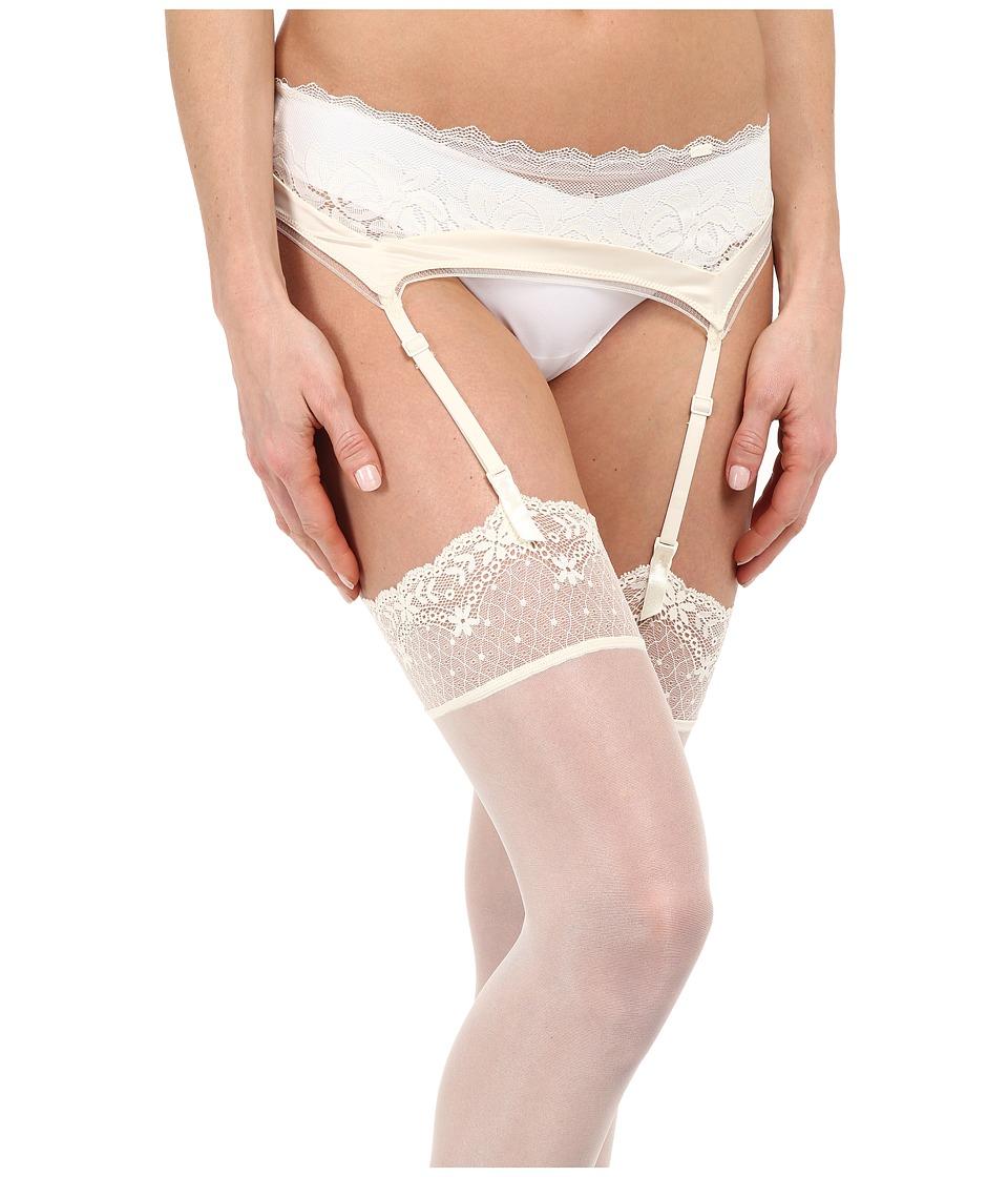 Calvin Klein Underwear - Seduce Garter (Ivory) Women's Underwear