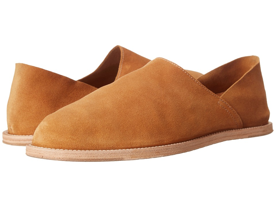Billy Reid - Mayfield Slipper (Caramel) Men's Slip on Shoes