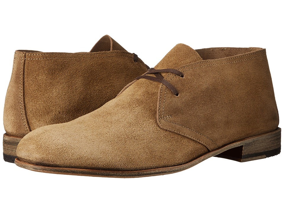 Billy Reid - Indianola (Tan) Men's Lace-up Boots