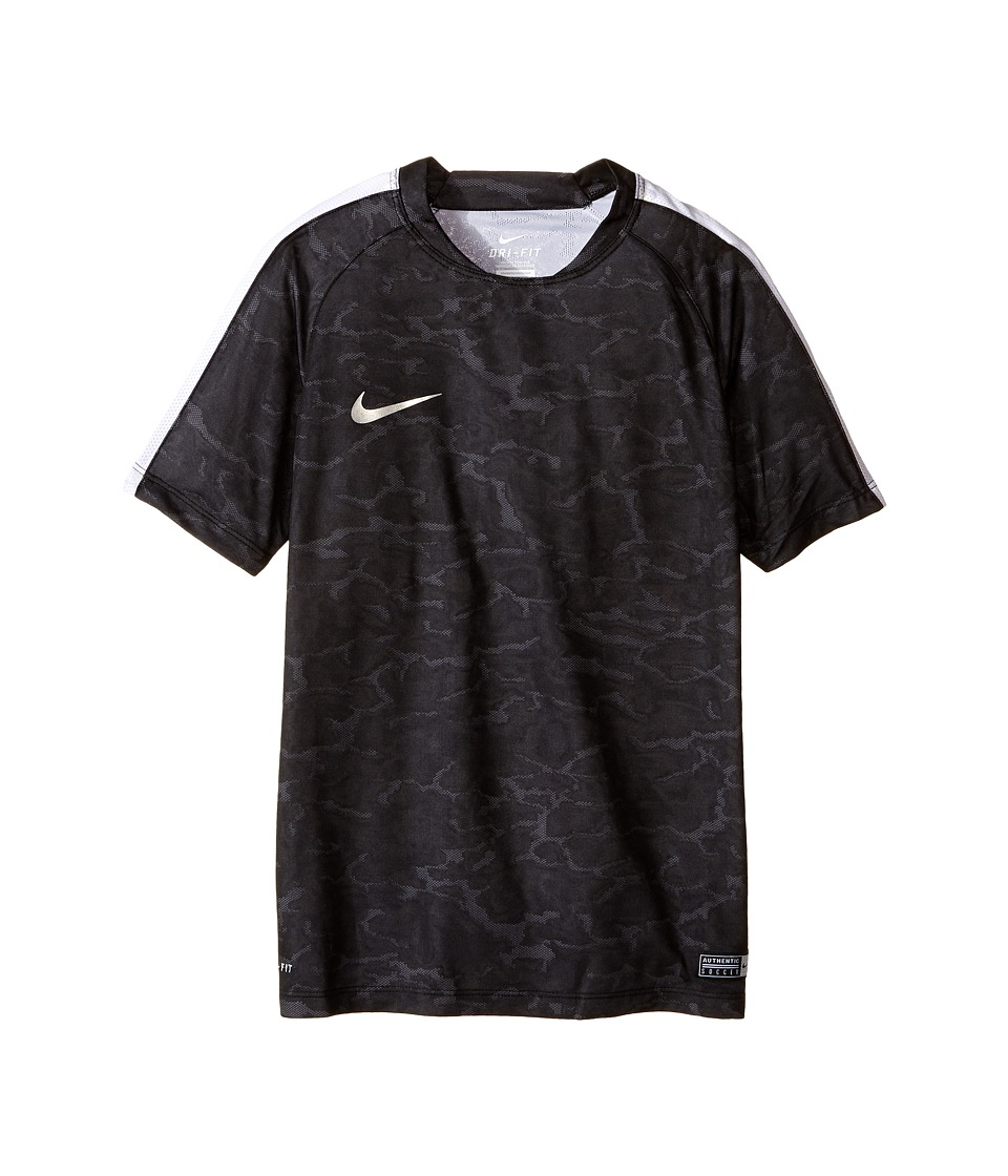 Nike Kids - Flash CR7 Soccer Shirt (Little Kids/Big Kids) (Black/White/Silver) Boy's Clothing