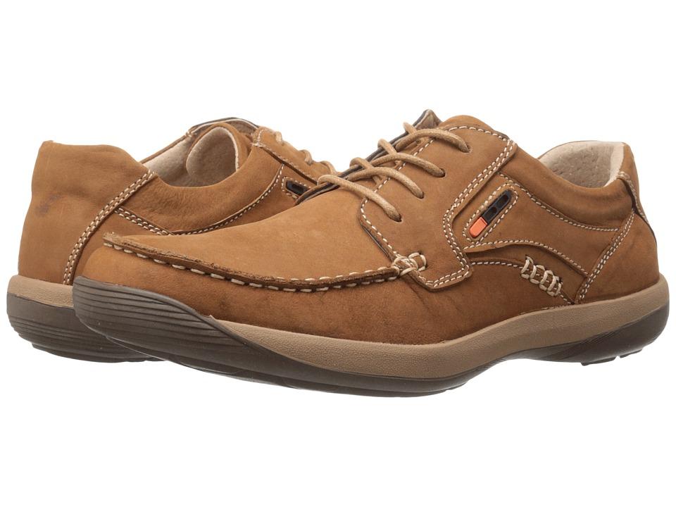 Spring Step - Duncan (Medium Brown) Men's Shoes