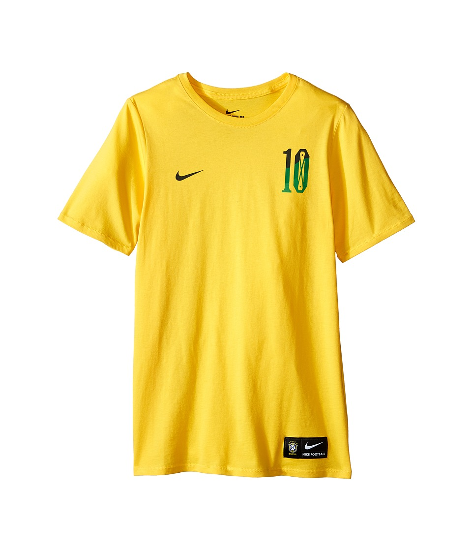 Nike Kids - Neymar Hero Tee (Little Kids/Big Kids) (Varsity Maize) Boy's T Shirt