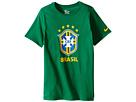 Brazil CBF Crest T-Shirt (Little Kids/Big KidsXXXXX