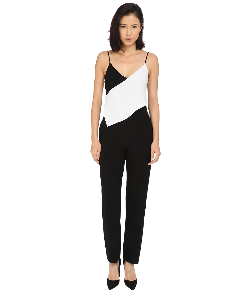 McQ - Scarf Jumpsuit (Black) Women's Jumpsuit & Rompers One Piece