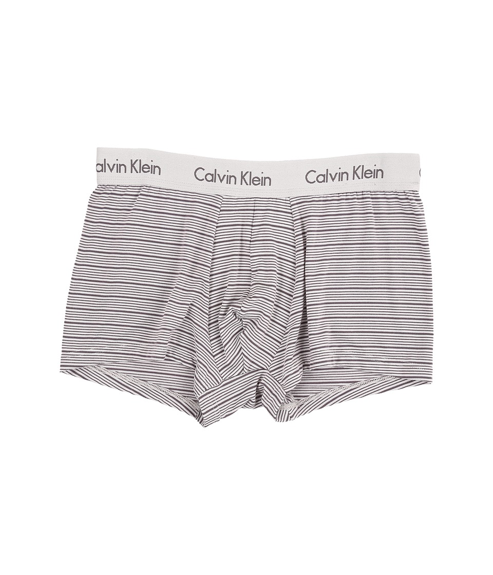 Calvin Klein Underwear - Body Modal Trunk (Deep Platinum/Grey Stripe) Men's Underwear