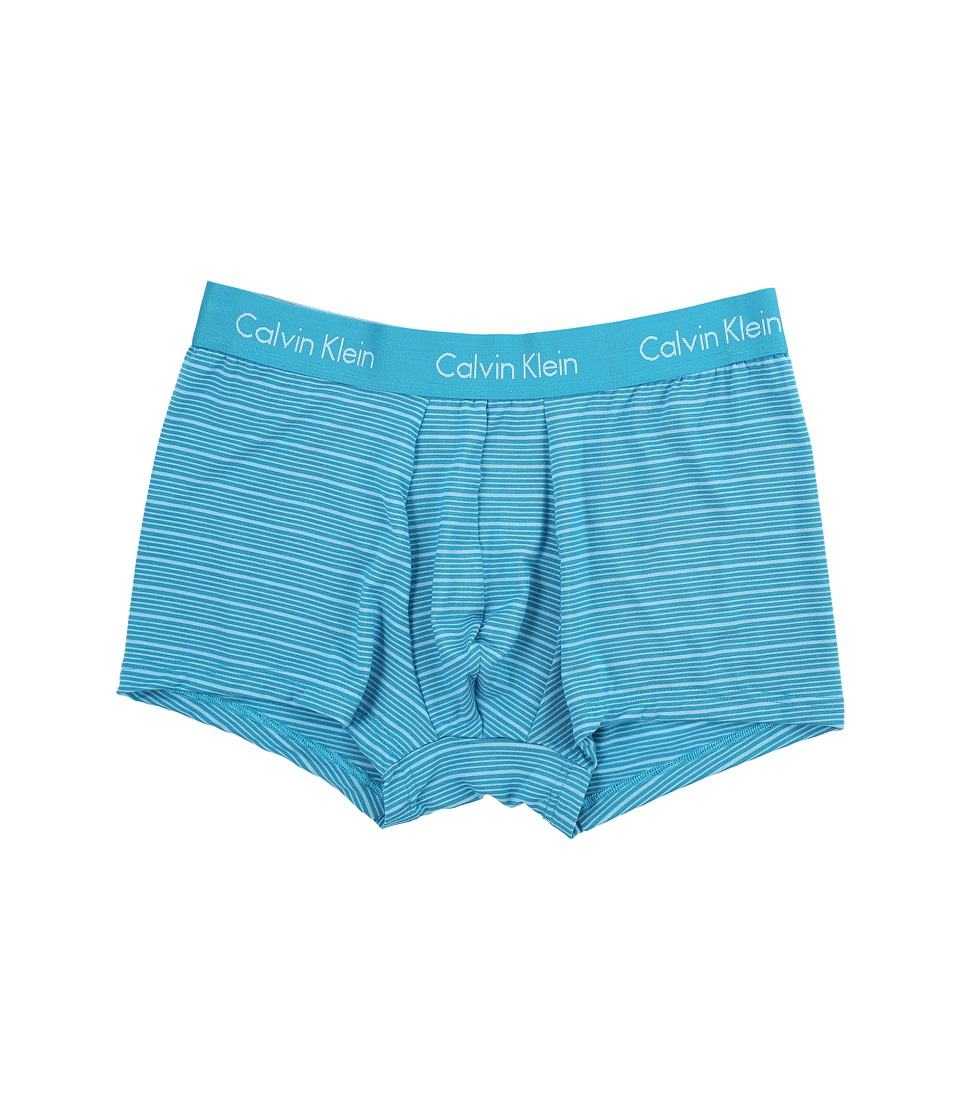 Calvin Klein Underwear - Body Modal Trunk (Caneel Bay/Bridge Blue Stripe) Men's Underwear