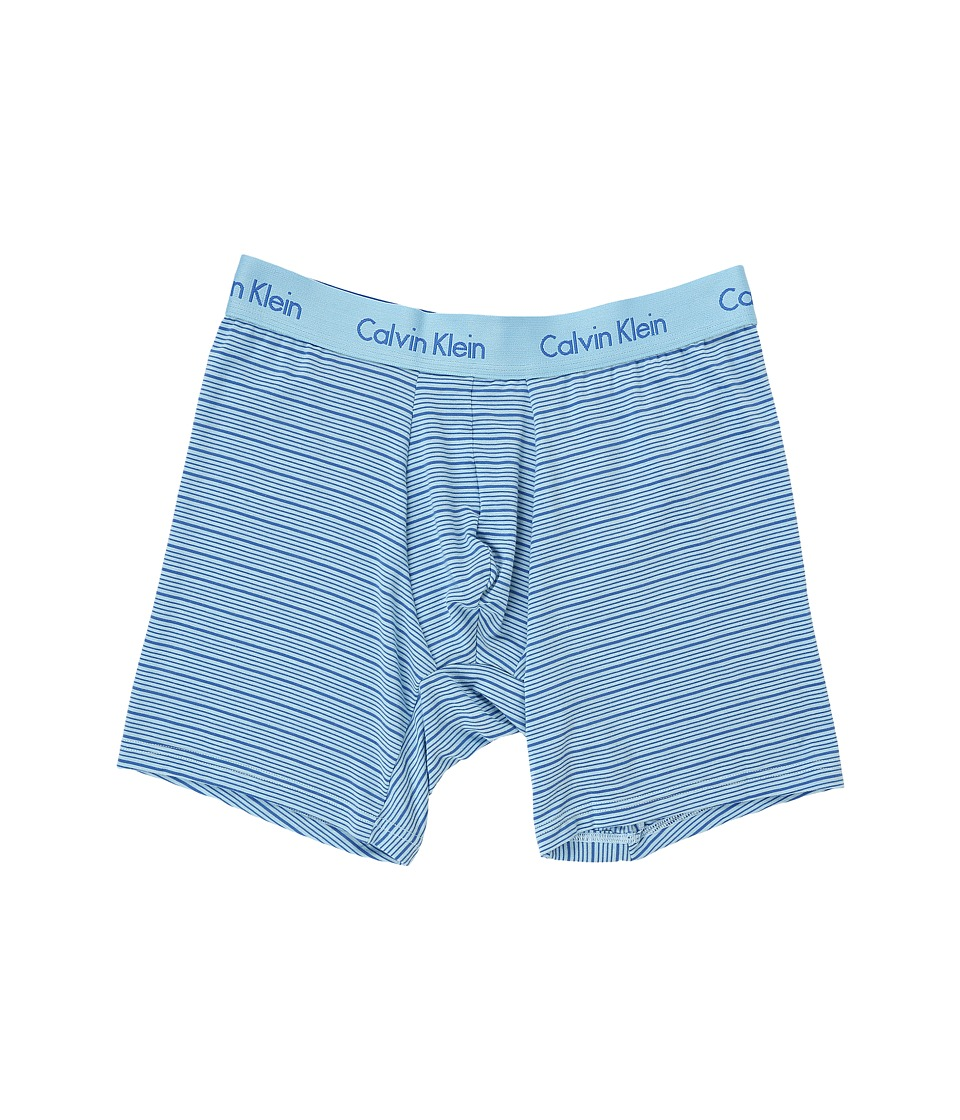 Calvin Klein Underwear - Body Modal Boxer Brief (Bridge Blue/Urban Stripe) Men's Underwear