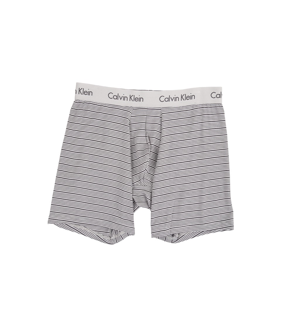 Calvin Klein Underwear - Body Modal Boxer Brief (Deep Platinum/Grey Stripe) Men's Underwear